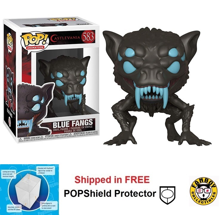 Funko POP Animation Castlevania Blue Fangs - #583